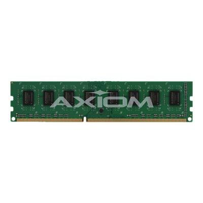 Axiom - DDR3L - 8 GB - DIMM 240-pin - unbuffered e ECC UDIMM - AX31600E11Z/8L