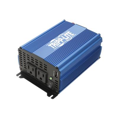 Tripp Lite 1000W Light-Duty Compact Power Inverter with 2 AC/1 USB - 2.0A/Battery Cables, Mobile - DC to AC power inverter - 1000 Watt - 1000 VA RPERP