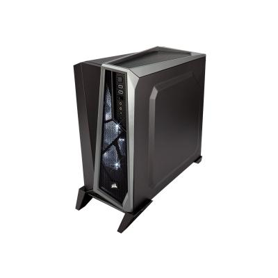 CORSAIR Carbide Series SPEC-ALPHA - tower - ATX PHA Mid-Tower Gaming Case  Bla ck & Silver