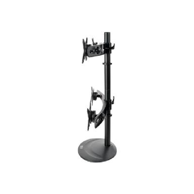 "Tripp Lite Quad Display TV Desk Mount Monitor Stand Swivel Tilt 10"" to 26"" Flat Screen Displays - stand (full-motion)"