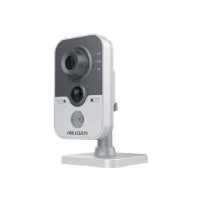 Hikvision IR Cube Network Camera DS-2CD2412F-IW - network surveillance camera  CMOS - 1.3 MP - 2.8 mm - 30 F rames per second