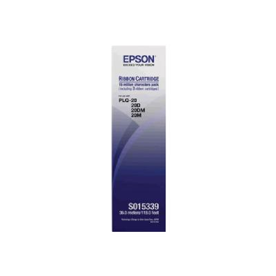 Epson - 3 - black - print ribbon on characters