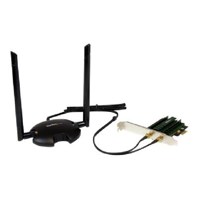 StarTech.com PCI Express AC1200 Dual Band Wireless-AC Network Adapter - PCIe 802.11ac WiFi Card - network adapter  WRLS
