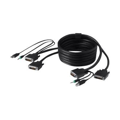 Belkin Secure KVM Cable Kit - video / USB / audio cable kit - 1.8 m - B2B T