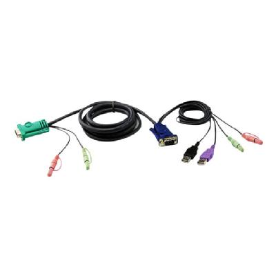 ATEN 2L5303UU - keyboard / video / mouse / audio cable - 3 m r CS1772 and CS1774