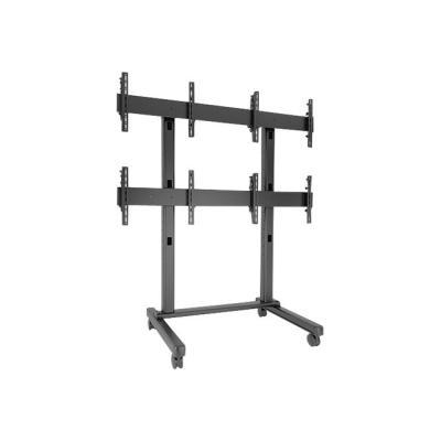 Chief Fusion Micro-Adjustable Large Freestanding Video Wall LVM2X2U - cart  CART