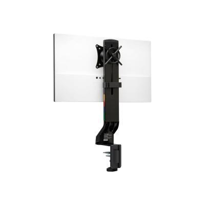 Kensington SmartFit Space-Saving Single Monitor Arm - mounting kit - for monitor (Tilt & Swivel) ing Monitor Arm