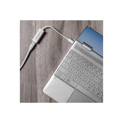 StarTech.com USB 3.0 to Gigabit Network Adapter - Silver - Sleek Aluminum Design for MacBook, Chromebook or Tablet - Native Driver Support (USB31000SA) - network adapter - USB 3.0 - Gigabit Ethernet x 1  your MacBook  Chromebook or t ablet - USB Ethernet