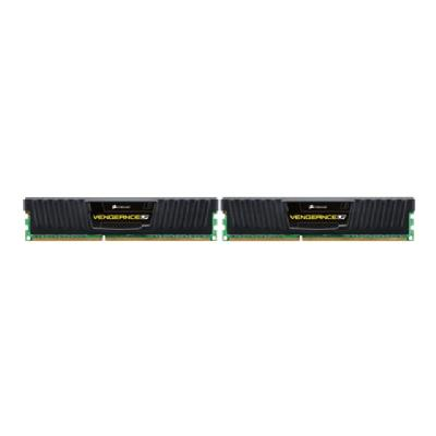 Corsair Vengeance - DDR3L - 16 GB: 2 x 8 GB - DIMM 240-pin   Unbuffered  9-9-9-24  Vengea nce Black Low Profil
