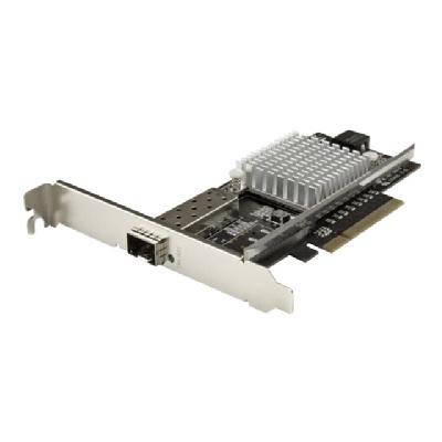 StarTech.com 10G Network Card - MM/SM - 1x Single 10G SPF+ slot - Intel 82599 Chip - Gigabit Ethernet Card - Intel NIC Card (PEX10000SFPI) - network adapter - PCIe 2.0 x8  CTLR