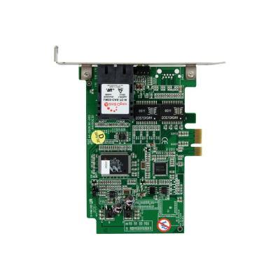 StarTech.com 1000 Mbps Gigabit Ethernet MM SC Fiber PCI Express Card - network adapter - PCIe - 1000Base-FX ber port to your system throug h PCI Express - pci