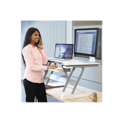Ergotron WorkFit-T - standing desk converter orkstation (white)
