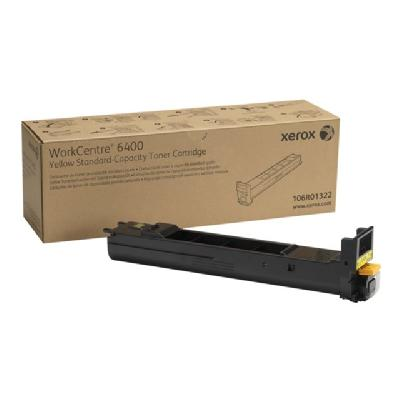 Xerox WorkCentre 6400 - yellow - original - toner cartridge to 8000 pages - WorkCentre 640 0