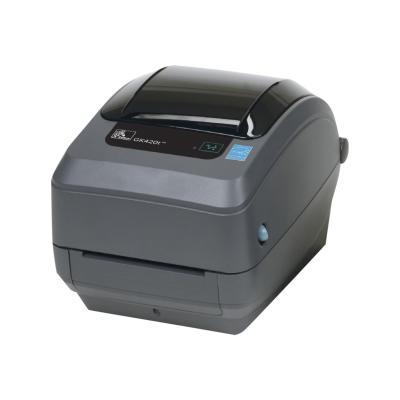 Zebra GK Series GK420t - label printer - B/W - direct thermal / thermal transfer (United States)  PRNT
