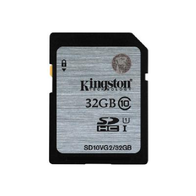 Kingston - flash memory card - 32 GB - SDHC UHS-I (Canada)  FLSH