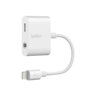 Belkin 3.5 mm Audio + Charge RockStar - Lightning vers prise casque/adaptateur de charge