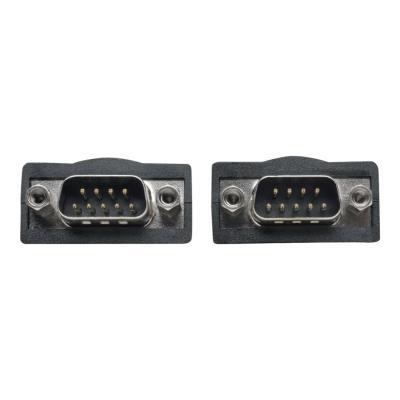 Tripp Lite 6ft 2-Port USB to DB9/ RS 232 Serial Adapter FTDI, w/ COM Retention - serial adapter - USB - RS-232 x 2 SERIAL ADAPTER FTDI