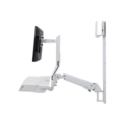 Ergotron SV Combo System with Worksurface & Pan, Medium CPU Holder - mounting kit - for LCD display / keyboard / mouse / barcode scanner / CPU (Lift and Pivot) -CONFIGURATION  MEDIUM CPU HOL DER  INCLUDE PAN FUN
