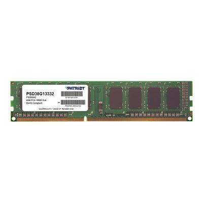 Patriot Signature Line - DDR3 - 8 GB - DIMM 240-pin - unbuffered