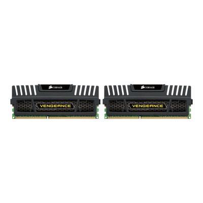CORSAIR Vengeance - DDR3 - 16 GB: 2 x 8 GB - DIMM 240-pin - unbuffered  Unbuffered  10-11-10-30  Veng eance Heatspreader