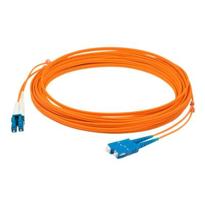 AddOn 1m LC to SC OM1 Orange Patch Cable - patch cable - 1 m  CABL