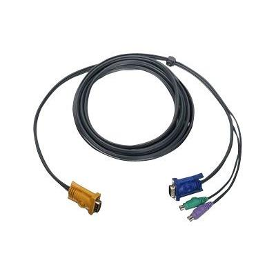 IOGEAR G2L5203PTAA - keyboard / video / mouse (KVM) cable - TAA Compliant - 3 m