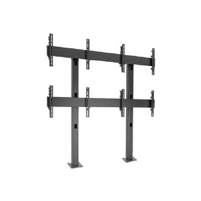 Chief Fusion Micro-Adjustable Large Bolt-Down Freestanding Video Wall LBM2X2U - mounting kit Large Bolt-Down Freestanding V ideo Wall