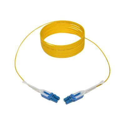 Tripp Lite 5M Duplex SMF 9/125 Uniboot Fiber Optic Patch Cable LC/LC 16' - patch cable - 5 m - yellow  CABL