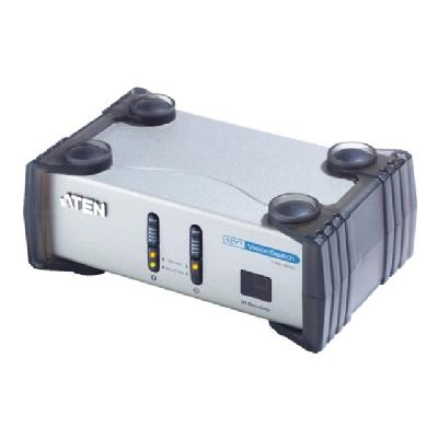 ATEN VS-261 - monitor/audio switch - 2 ports s - External