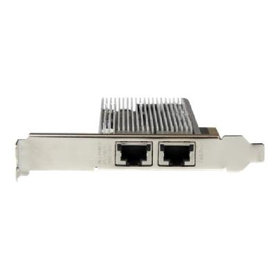 StarTech.com 2-Port 10Gb PCIe NIC with Native Link Aggregation - 10Gbase-t Ethernet Card - 100/1000/10000 Mbps LAN Card (ST20000SPEXI) - network adapter - PCIe 2.0 x8 - 10Gb Ethernet x 2  CTLR
