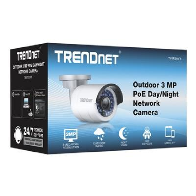TRENDnet TV IP310PI Outdoor 3 MP PoE Day/Night Network Camera - network surveillance camera  PERP