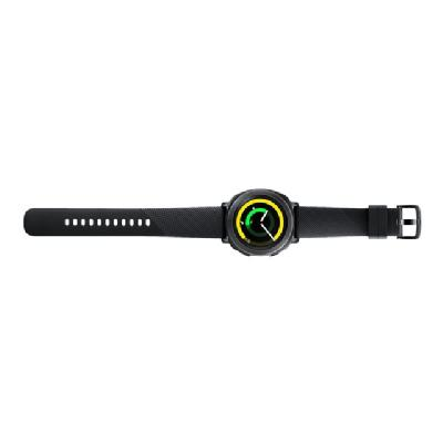 Samsung Gear Sport SM-R600 - black - smart watch with strap - black - 4 GB  ACCS