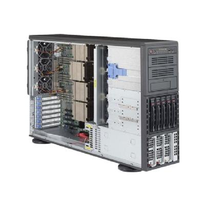 Supermicro SuperServer 8048B-C0R3FT - tower - no CPU - 0 MB - 0 GB  RM