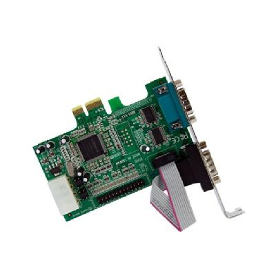 StarTech.com 2S1P Native PCI Express Parallel Serial Combo Card with 16550 UART - PCIe 2x Serial 1x Parallel RS232 Adapter Card (PEX2S5531P) - parallel/serial adapter OCTLR