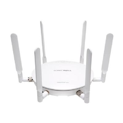 SonicWall SonicPoint ACe - wireless access point - with 1 year Dynamic Support 24X7 - with SonicWALL 802.3at Gigabit PoE Injector  WRLS