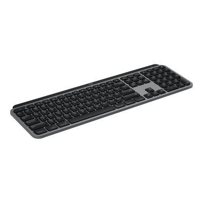 Logitech MX Keys Advanced Wireless Illuminated Keyboard for Mac - keyboard - space gray  WRLS