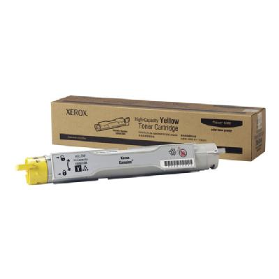 Xerox High-Capacity Phaser 6300/6350 - High Capacity - yellow - original - toner cartridge to 7000 pages - Phaser 6300/63 50