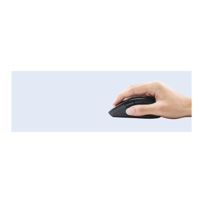 Adesso Tru-Form Media 1600 - keyboard and mouse set - with scroll wheel - US - black