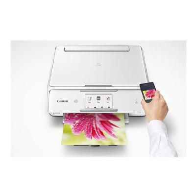 Canon PIXMA TS8020 - multifunction printer (color) et - Copier;Scanner - 4 x 6 Bo rderless Photo: Appr