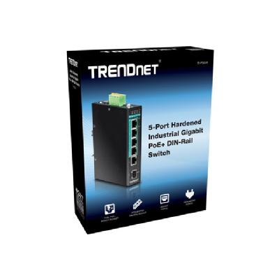 TRENDnet TI-PG541 - switch - 5 ports  CPNT