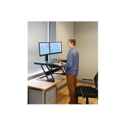 Ergotron WorkFit-TL Standing Desk Workstation - TAA Compliant Version - stand - for LCD display / keyboard / mouse - TAA Compliant K