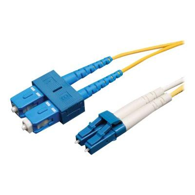 Tripp Lite 15M Duplex Singlemode 9/125 Fiber Optic Patch Cable LC/SC 50' 50ft 15 Meter - patch cable - 15 m - yellow r Patch Cable (LC/SC)  15M (50 -ft.)