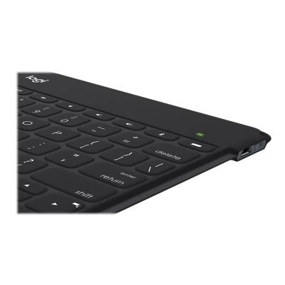 Logitech Keys-To-Go - keyboard - black yboard for iPad  iPhone  Apple  TV and more