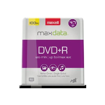 Maxell - DVD+R x 100 - 4.7 GB - storage media K