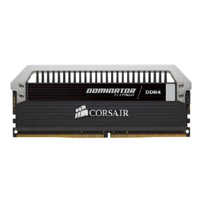 Corsair Dominator Platinum - DDR4 - 16 GB: 4 x 4 GB - DIMM 288-pin 4 x 4GB)  3200MHz  16-18-18-36   1.35V  Intel XMP 2