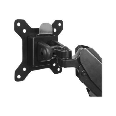 "StarTech.com Desk Mount Dual Monitor Arm - Adjustable - Supports Monitors 12"" to 30"" - Full Motion VESA Mount Double Monitor Arm - Desk Clamp - Black (ARMSLIMDUO) - desk mount (adjustable arm)  MNT"