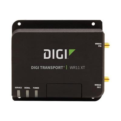 Digi TransPort WR11 XT - wireless router - WWAN - desktop (Asia Pacific, EMEA) lar (4G LTE EMEA/APAC)  Ethern et (1 Port).  No Ant