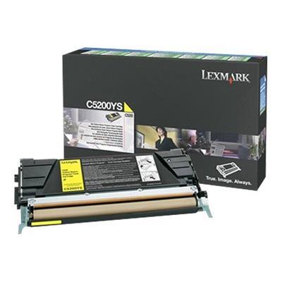 Lexmark - yellow - original - toner cartridge - LRP 00 pages - for C520N  C530DN