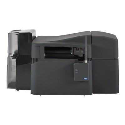 Fargo DTC 4500e - plastic card printer - color - dye sublimation/thermal resin