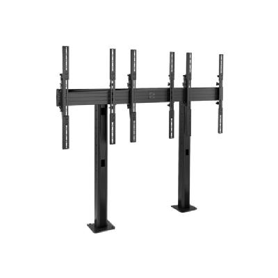 Chief Fusion LBM3X1UP 3 x 1 Portrait Micro-Adjustable Large Bolt-Down Freestanding Video Wall - mounting kit justable Large Bolt-Down Frees tanding Video Wall